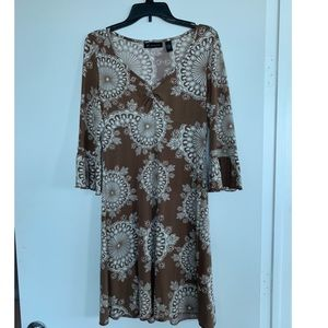 INC print dress
